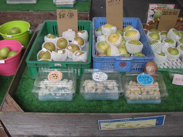 道の駅みなみ波賀 鳥取産の梨が美味しくなりました