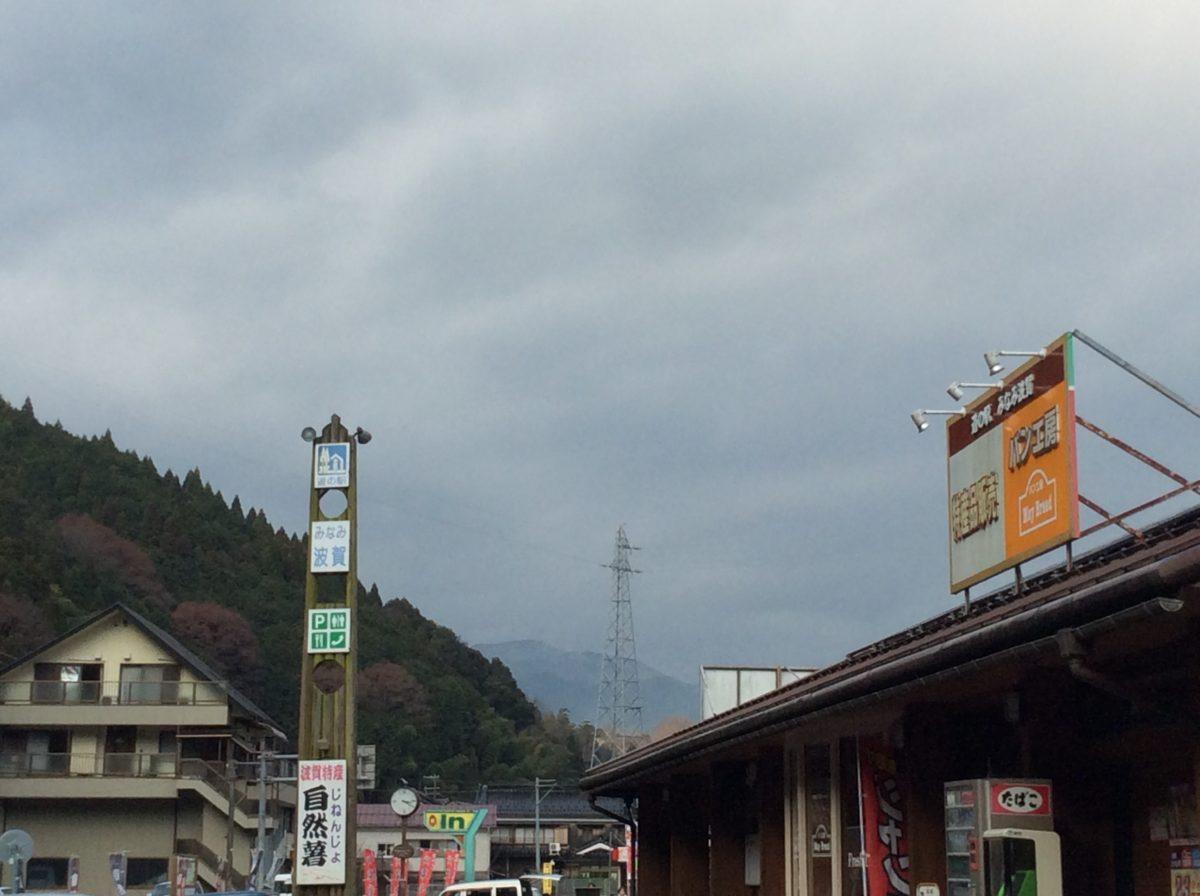 みなみ波賀も雪が降りました(*゚▽゚*)