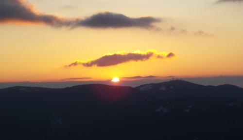東山登山 初日の出 フォレストステーション波賀