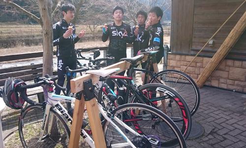 春です。サイクリストも活動開始!道の駅みなみ波賀