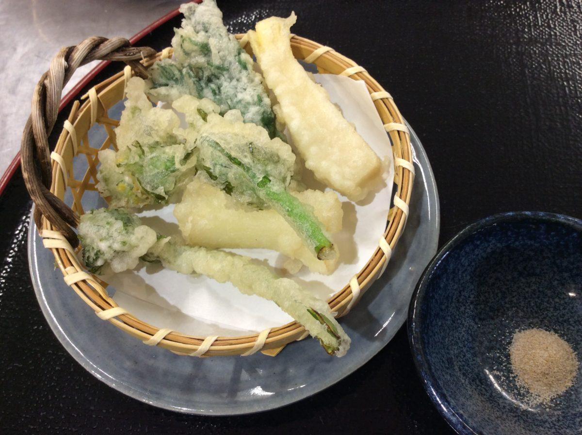 山菜、葉わさび、今が旬🌿  道の駅みなみ波賀レストラン